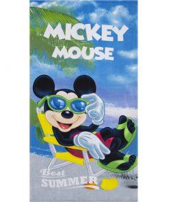"Toalha de Praia Mickey ""Best Summer"""
