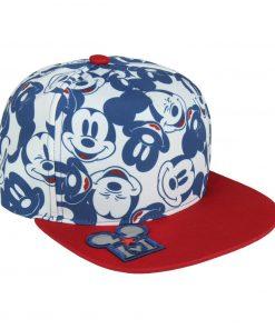 Boné CAP Mickey Branco Pala Vermelha