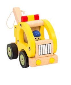 Reboque em Madeira de brinquedo