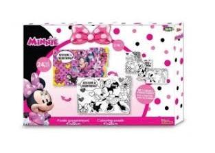Puzzle Minnie para colorir