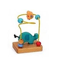 Jogo Labirinto Elefante em Madeira de brinquedo