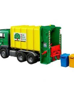 Camião do Lixo Bruder MAN Reciclagem