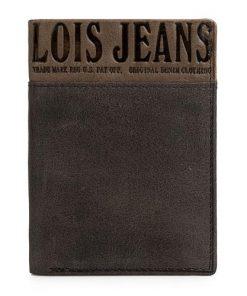 """Carteira Lois Vertical Preta """"Owens"""""""