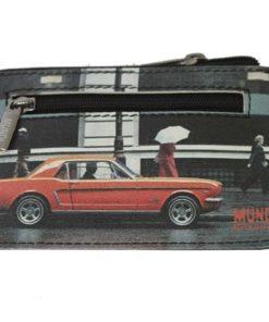 "Porta Moedas Mundi ""Mustang"" Preto"