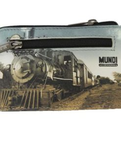 "Porta Moedas Mundi ""Comboio"" Preto"
