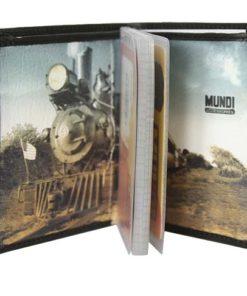 "Porta Cartões Mundi ""Comboio"" Preto"
