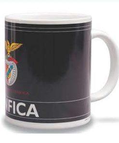 Caneca do Sport Lisboa e Benfica Preta