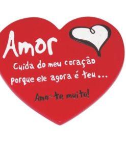 """Íman em forma de Coração """"Amor"""""""