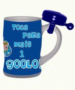 Caneca do Futebol Clube do Porto com Campainha