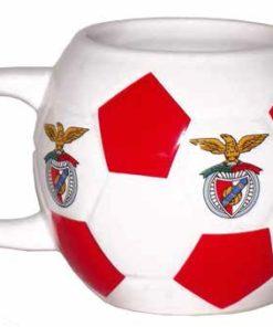Caneca do Sport Lisboa e Benfica em Bola