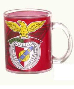 Caneca do Sport Lisboa e Benfica em Vidro