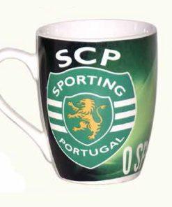 Caneca do Sporting Clube de Portugal Oval