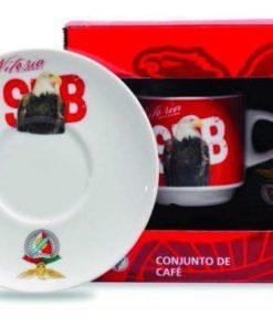 Chávena de Café do Sport Lisboa e Benfica