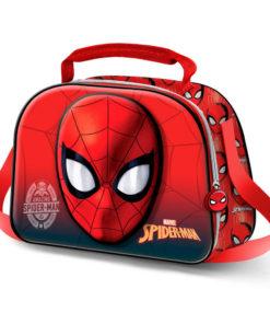 Lancheira 3D Spiderman Térmica com Caras