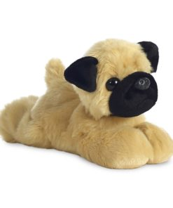 Peluche Cão Pug Mini Flopsie Pugster