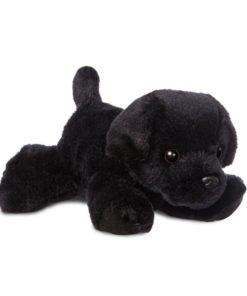 Peluche Cão Labrador Mini Flopsie Blackie