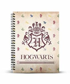 "Caderno A4 Harry Potter ""Hogwarts"""