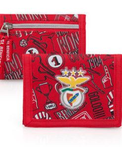 Carteira Sport Lisboa e Benfica Riscas Letras