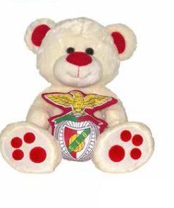 Peluche Urso Sport Lisboa e Benfica 20cm