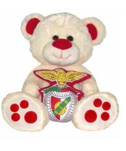 Peluche Urso Sport Lisboa e Benfica 30cm