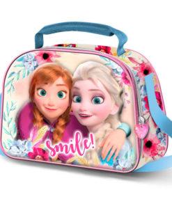 """Lancheira 3D Frozen Térmica """"Smile"""""""