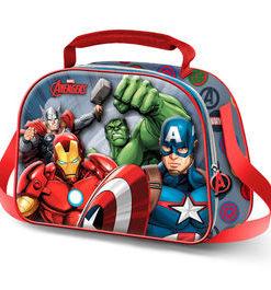 Lancheira 3D Avengers Térmica 4 Personagens