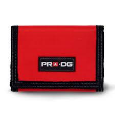 Carteira Pro DG de Velcro Vermelha