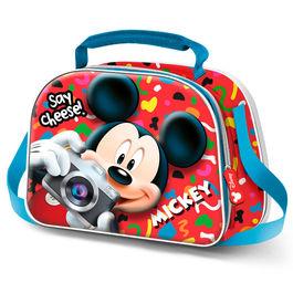 """Lancheira 3D Mickey Térmica """"Say Cheese"""""""