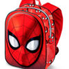 Mochila 3D Spiderman Infantil com Caras