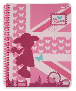 Caderno A5 Nici Jolly Journey in London