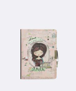 """Diário Anekke """"A Book"""" c/ Cadeado"""