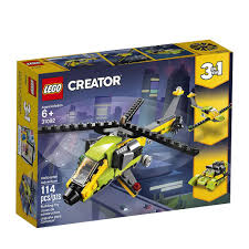 Aventura de Helicóptero Lego Creator
