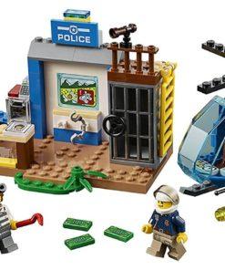 Perseguição Policial na Montanha Lego Juniors