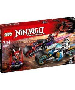 A Corrida de Rua de Serpente Jaguar Lego Ninjago