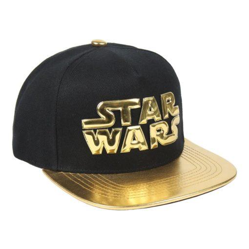 Boné CAP Star Wars Preto e Dourado
