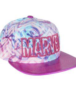 Boné CAP Marvel Rosa Brilhante