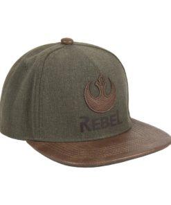 "Boné CAP Star Wars Verde e Castanho ""Rebel"""