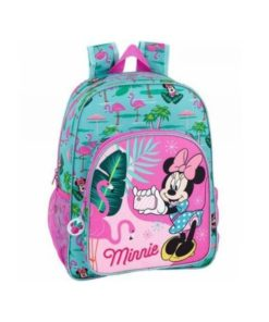 "Mochila Escolar Minnie ""Spring Palms"""