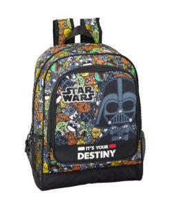 "Mochila Escolar Star Wars ""Galaxy""."