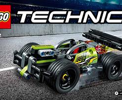 "Carro de Corrida ""WHACK"" Lego Technic"