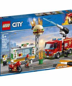 Combate Fogo no Bar de Hambúrgueres Lego City