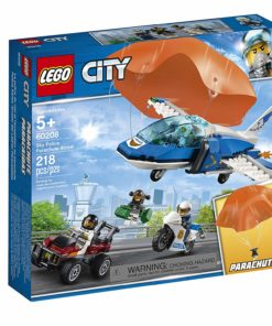 Polícia Aérea Detenção de Paraquedas Lego City