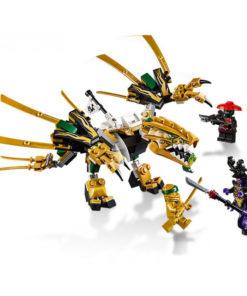 O Dragão Dourado Lego Ninjago