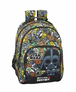 "Mochila Escolar Dupla Star Wars ""Galaxy"""
