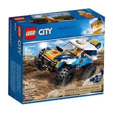 Carro de Corrida do Rali do Deserto Lego City