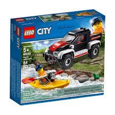 Aventura com Caiaque Lego City