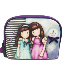 "Bolsa Necessaire Gorjuss ""Friends Walk Together"""