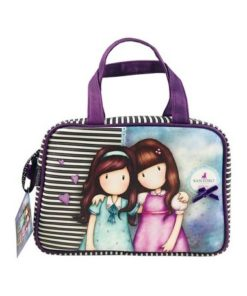"Bolsa Gorjuss Retangular ""Friends Walk Together"""
