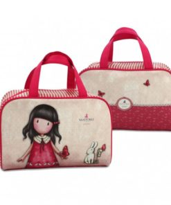 "Bolsa Retangular Gorjuss ""Time to Fly"""