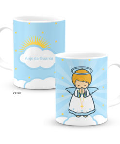 Caneca Anjo da Guarda Azul Little Drops of Water